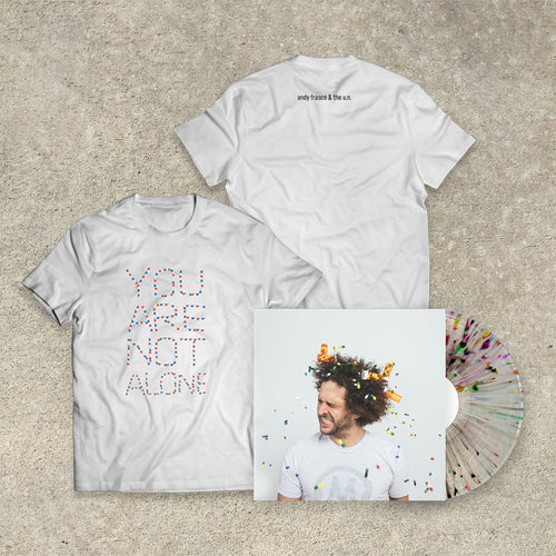 Andy Frasco & The U.N. 'Keep On Keepin' On' LP+Tee Bundle