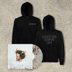 Andy Frasco & The U.N. 'Keep On Keepin' On' LP+ Hoodie Bundle