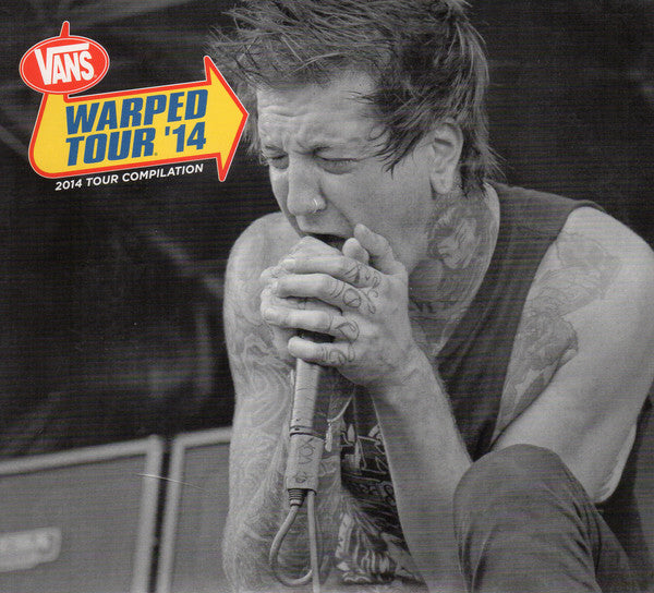 2014 Warped Tour Compilation CD