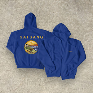 Satsang 'All. Right. Now.' Zip Up Hoodie PREORDER