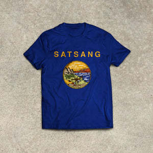 Satsang 'All. Right. Now.' Montana T Shirt PREORDER