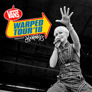2018 Warped Tour Compilation CD