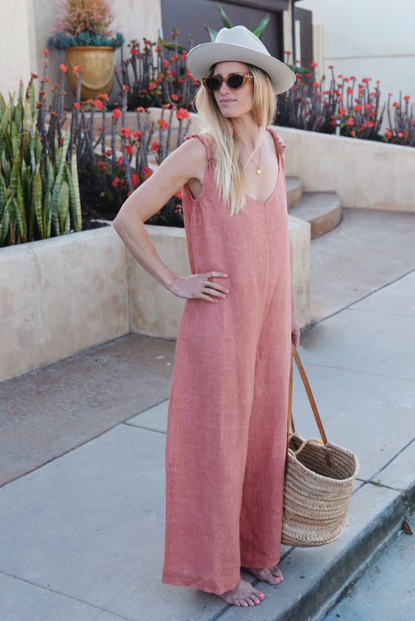 The Linen Jumpsuit // Gigi
