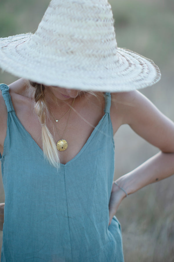 The Linen Jumpsuit // Lagoon