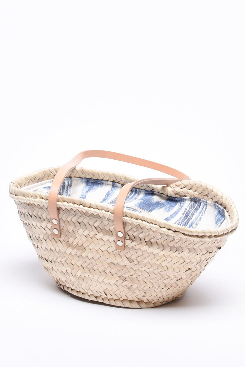 Mini-me Ikat Print Basket