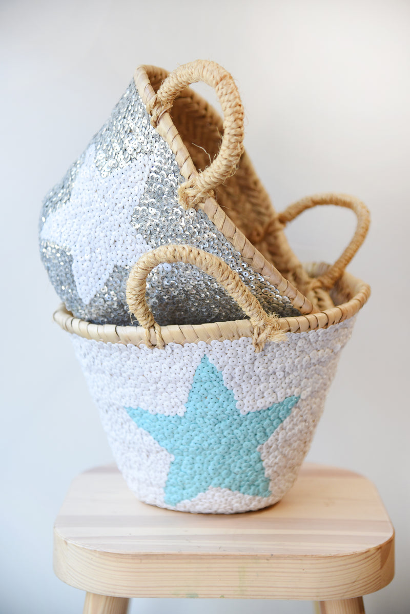Sequin Baskets (More Colors Available)
