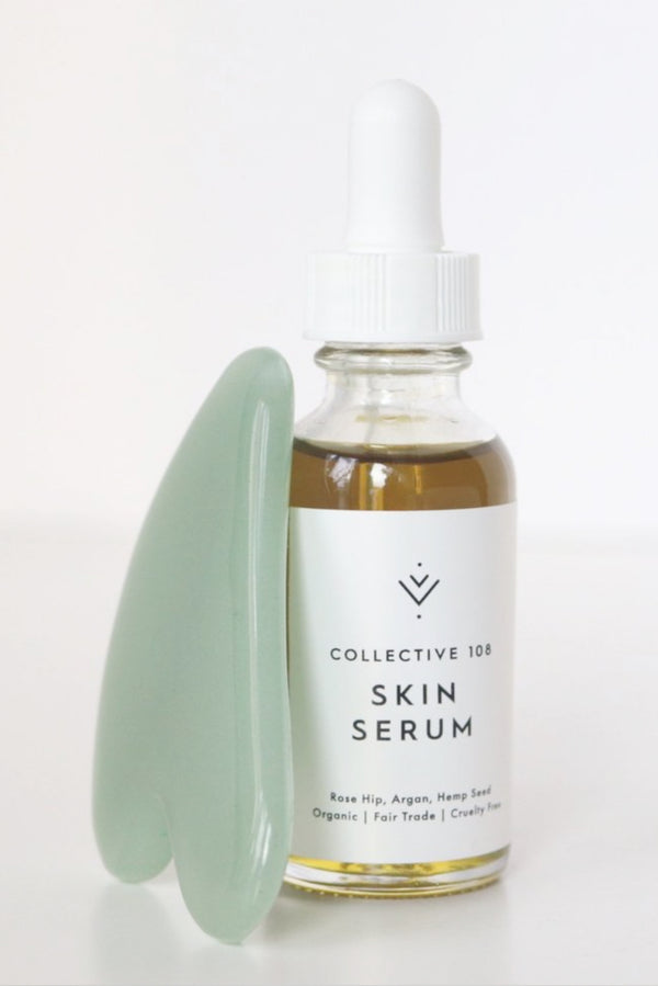 Gua Sha & Serum Gift Set