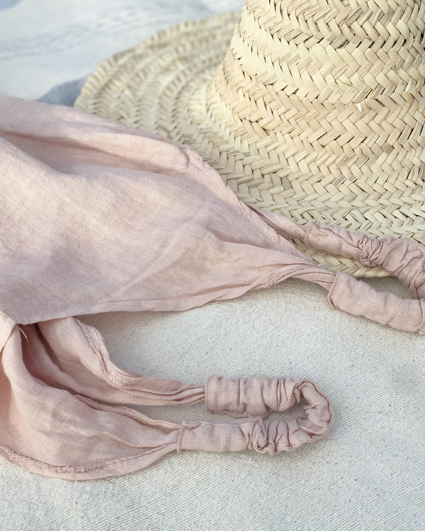 The Linen Jumpsuit // Blush