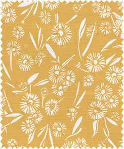 'Daisy Daisy' sample swatches, multiple colours