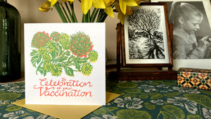 Vaccination Celebration card