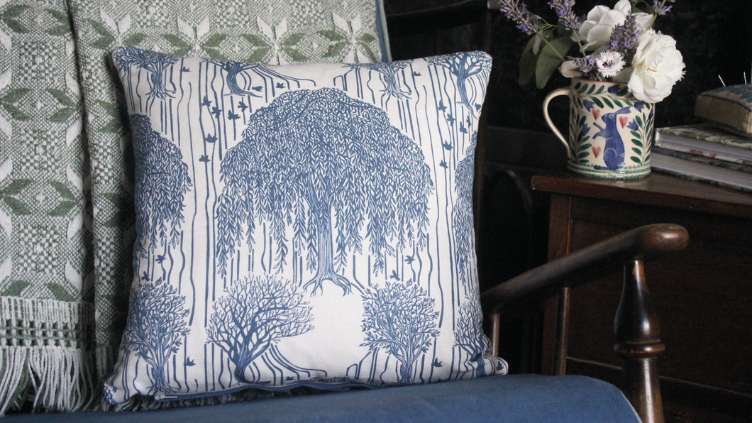 'Tournebury' Cushion, midnight