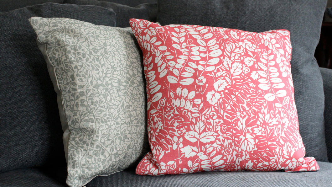 'Littleworth' Cushion, coral