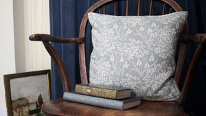 'Romilly' Cushion, sage