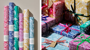 'Mo' wrapping paper