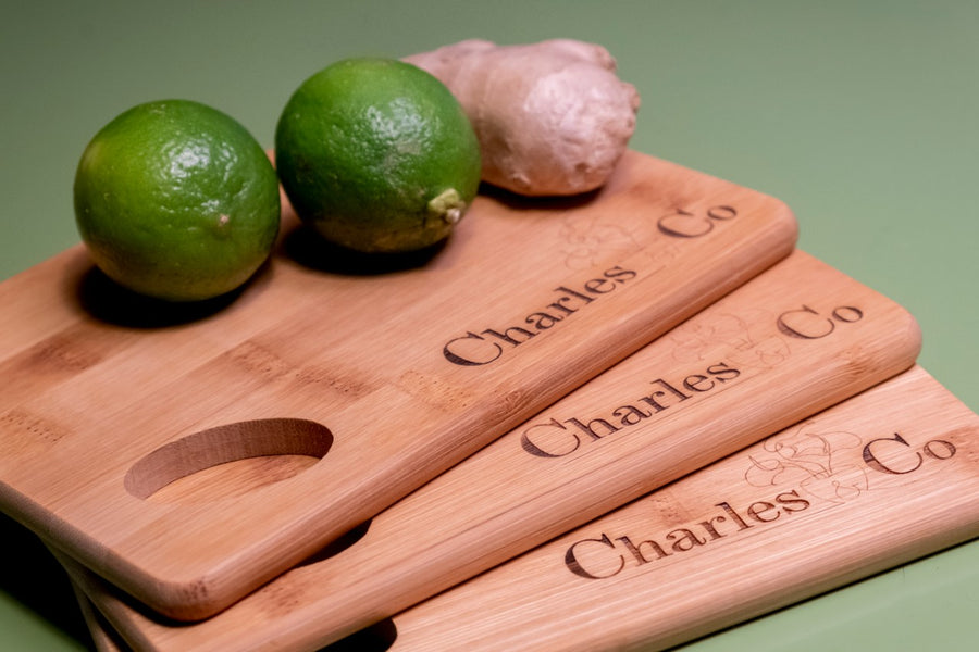 by Charles & Co Bamboo Cutting Board