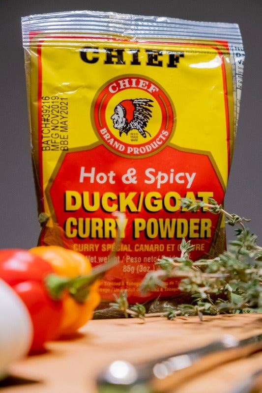 Chief Duck and Goat Curry