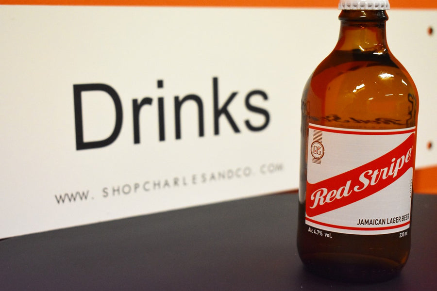 Jamaican Red Stripe Larger