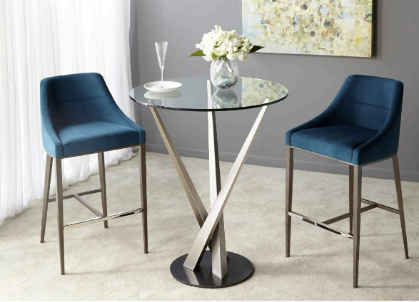 Elite Modern bar pub table and barstools