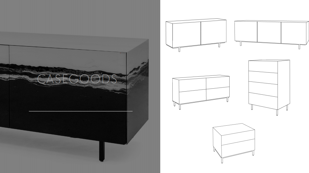 Glassisimo Casegoods Bufferts Sideboards and dressers