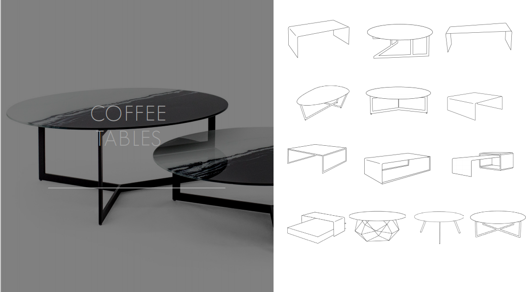 Glassisimo Coffee Tables