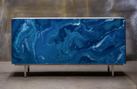 Glassisimo Sideboard glass doors