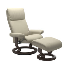 Load image into Gallery viewer, Stressless® Aura (M) Classic chair with footstool