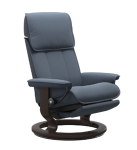 Stressless® Admiral Recliner Classic Power Leg