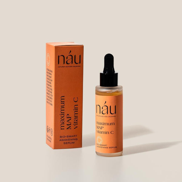 Awakening Serum powered by MAP Vitamin C 30mL | náu skin – Farm-to-Face Natural Skincare
