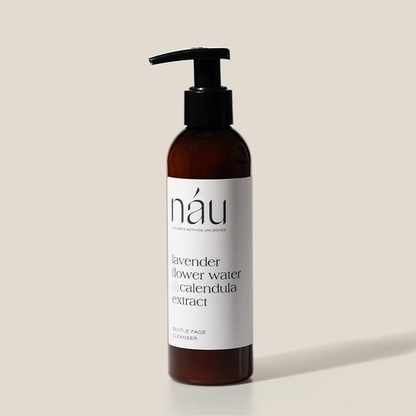 Gentle Face Cleanser 200mL | náu skin – Farm-to-Face Natural Skincare