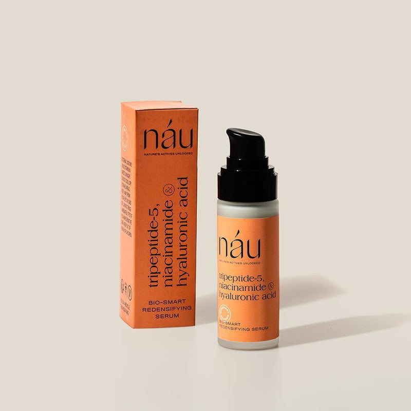 Redensifying Serum powered by Hyaluronic Acid and Niacinamide 30mL | náu skin – Farm-to-Face Natural Skincare