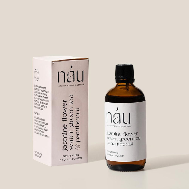 Soothing Facial Toner powered by Panthenol 100mL | náu skin – Farm-to-Face Natural Skincare