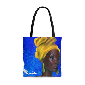 Blue and Gold Sisterhood Tote Bag