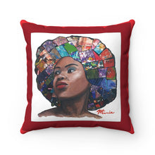 Load image into Gallery viewer, HAIR 2 RED  Spun Polyester Square Pillow