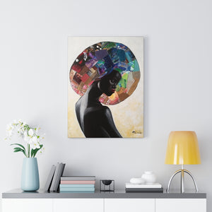 Black Beauty Canvas