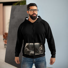 Load image into Gallery viewer, Marvin AOP Unisex Zip Hoodie
