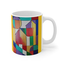 Load image into Gallery viewer, colorful  abstract mug