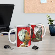 Load image into Gallery viewer, Red and White Mug