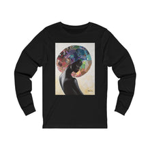 Load image into Gallery viewer, Black Beauty Unisex Jersey Long Sleeve Tee