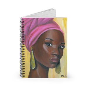 Beauty In Pink Notebook