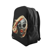 Load image into Gallery viewer, Diva Black Backpack