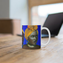 Load image into Gallery viewer, Blue and Gold Mug