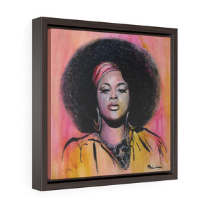 Jilly from Philly Framed Premium Gallery Wrap Canvas