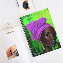 Load image into Gallery viewer, Pink and Green 2 Notebook