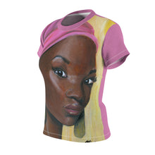 Load image into Gallery viewer, Pink Beauty Women's AOP Cut & Sew Tee