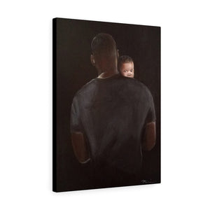Daddy Protector Canvas