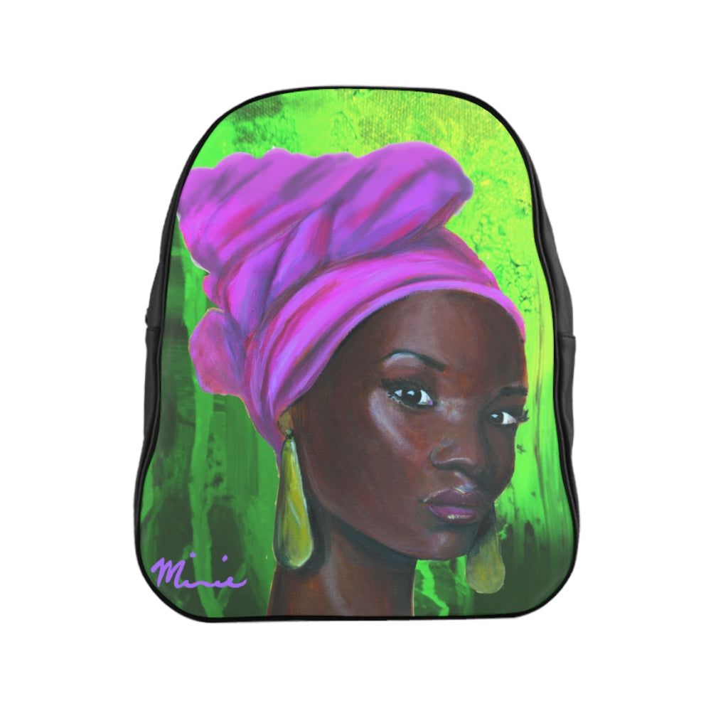 Pink and Green 2 Backpack