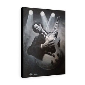 Guitar Man Canvas