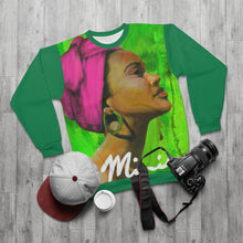 Load image into Gallery viewer, Pink and Green AOP Unisex Sweatshirt