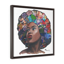 Load image into Gallery viewer, Hair 2 Framed Premium Gallery Wrap Canvas