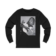 Load image into Gallery viewer, Louie Arstrong  Unisex Jersey Long Sleeve Tee